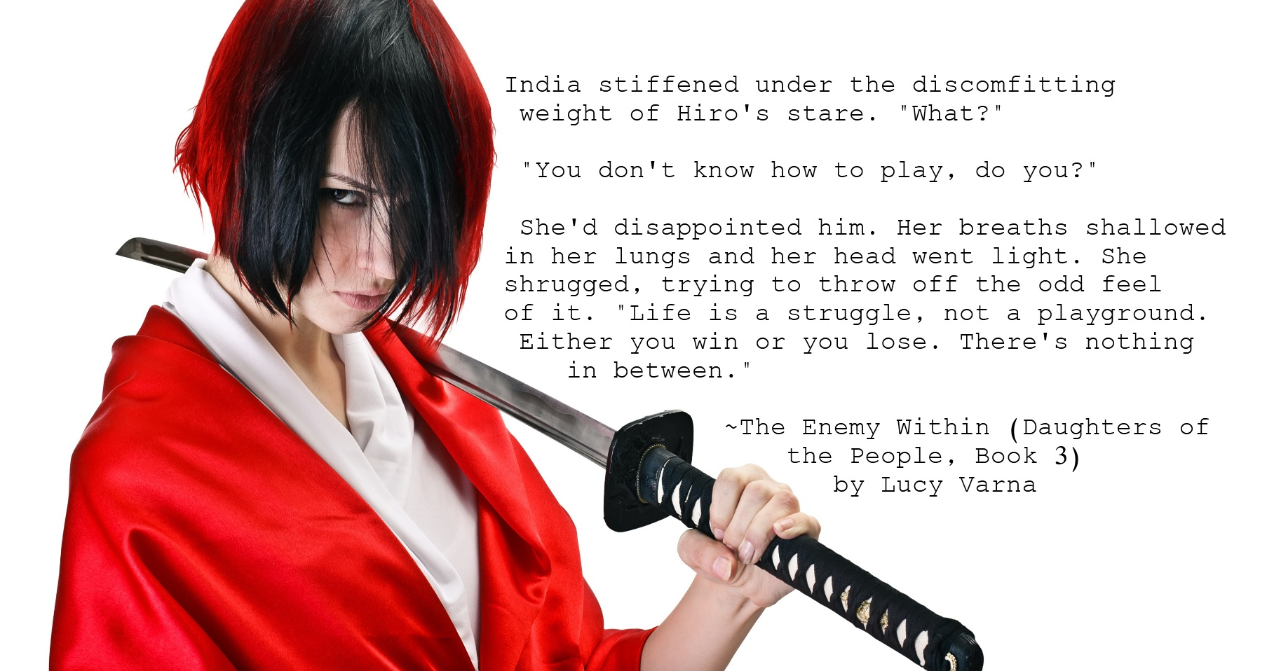 India Furia, The Enemy Within by Lucy Varna