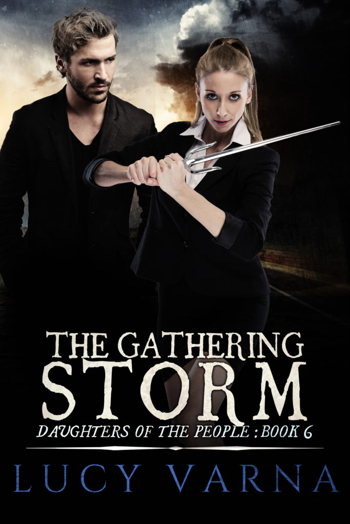 The Gathering Storm by Lucy Varna